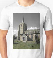 Green & Beige Tones, St Mary's, Bramford T-Shirt