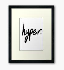 Hyper Framed Print