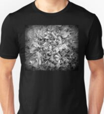 Pop Art | Modern | Flowers | Bnw Goth Sedum T-Shirt