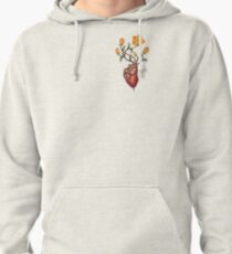 This Blossoming Bleeding Heart Pullover Hoodie