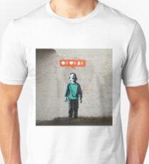 Street Art Nobody Likes Me T-Shirt
