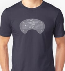 Sega Genesis Controller - X-Ray T-Shirt