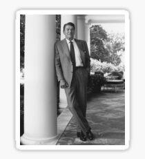 Pegatina Presidente Ronald Reagan