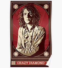Syd Barrett/Crazy Diamond Poster