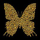 Golden butterfly by blackhalt