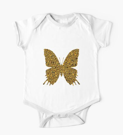 Golden butterfly Kids Clothes