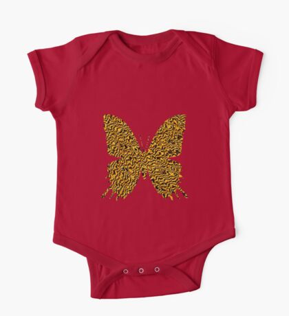 Golden butterfly Kids Clothes