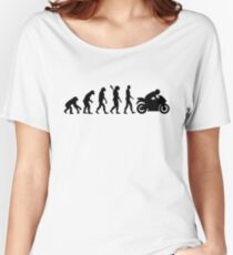 Evolution motorcycle Women's Relaxed Fit T-Shirt