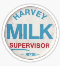 Harvey Milk for Supervisor Button Sticker