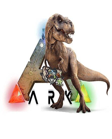ark t-rex », posters par chris ioannou | redbubble
