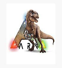 Ark T-rex Photographic Print