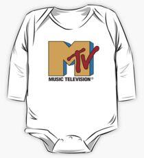MTV 90's Logo One Piece - Long Sleeve