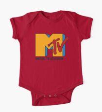 MTV 90's Logo One Piece - Short Sleeve