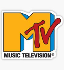 MTV 90's Logo Sticker