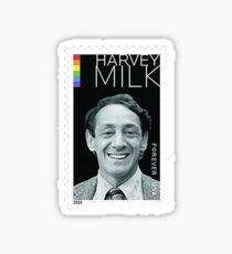 Harvey Milk Forever Stamp Sticker