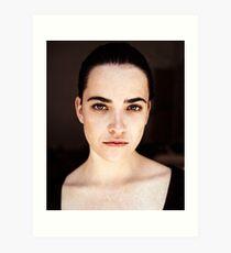 Lucie Portrait I Art Print