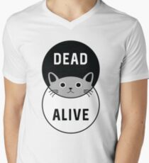 Schrodinger's Cat: Dead or Alive! Men's V-Neck T-Shirt