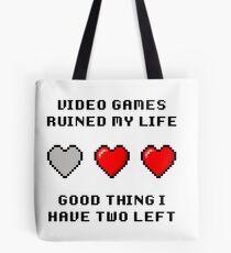 Video Game Life Tote Bag