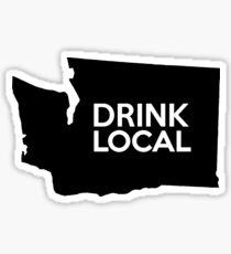 Washington Drink Local WA Sticker