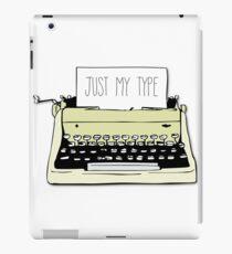 Schreibmaschine iPad-Hülle & Klebefolie