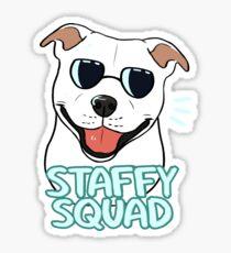 STAFFY SQUAD (white) Sticker