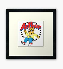 Funny Arthur Framed Print