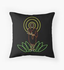 Peaceful mind Throw Pillow