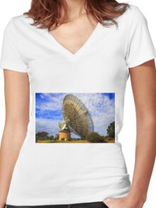 The Dish Women's Fitted V-Neck T-Shirt