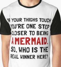 Thigh Tough Mermaid Graphic T-Shirt