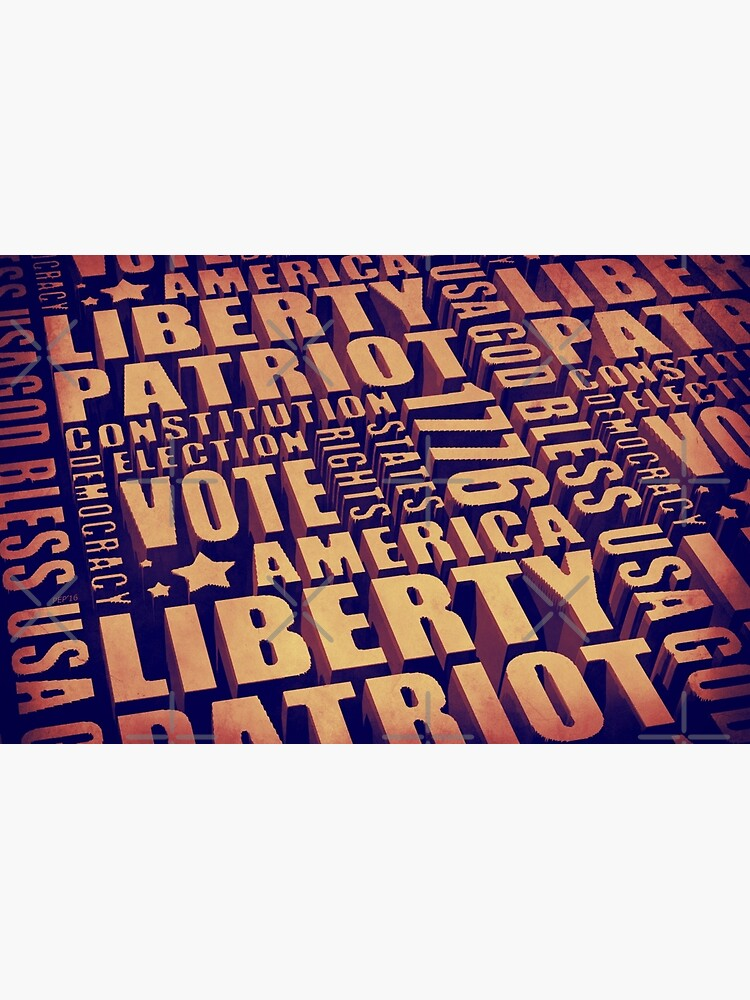 Patriotic Typography by morningdance