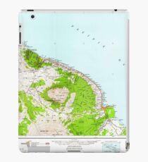 USGS TOPO Map Hawaii HI Hawaii North 349919 1961 250000 iPad Case/Skin