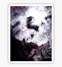 Sauron Brought Werewolves Sticker