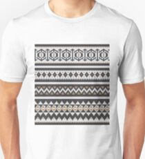 Scandinavian knitted pattern  Unisex T-Shirt