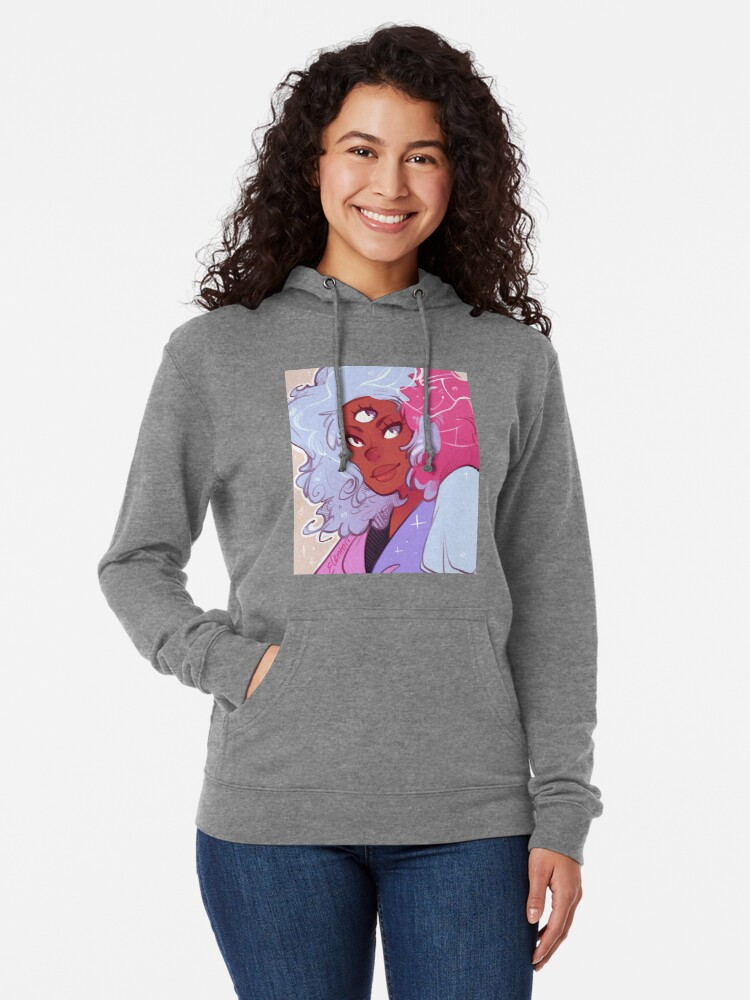 Alternate view of The Answer is Love Lightweight Hoodie