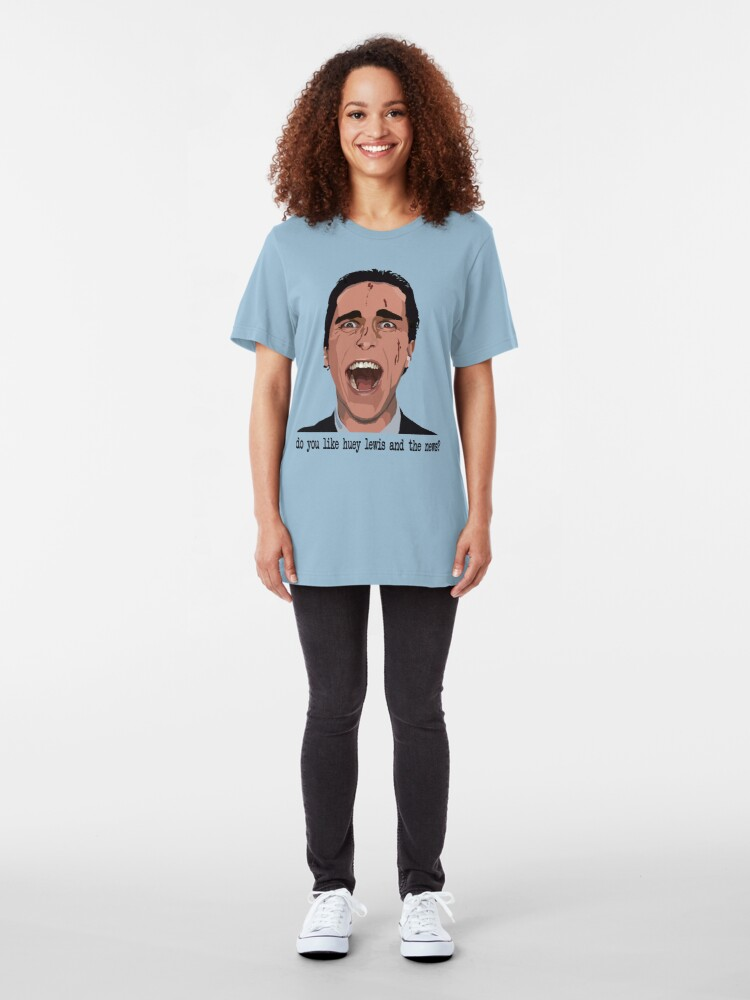Alternate view of An American Psycho Slim Fit T-Shirt