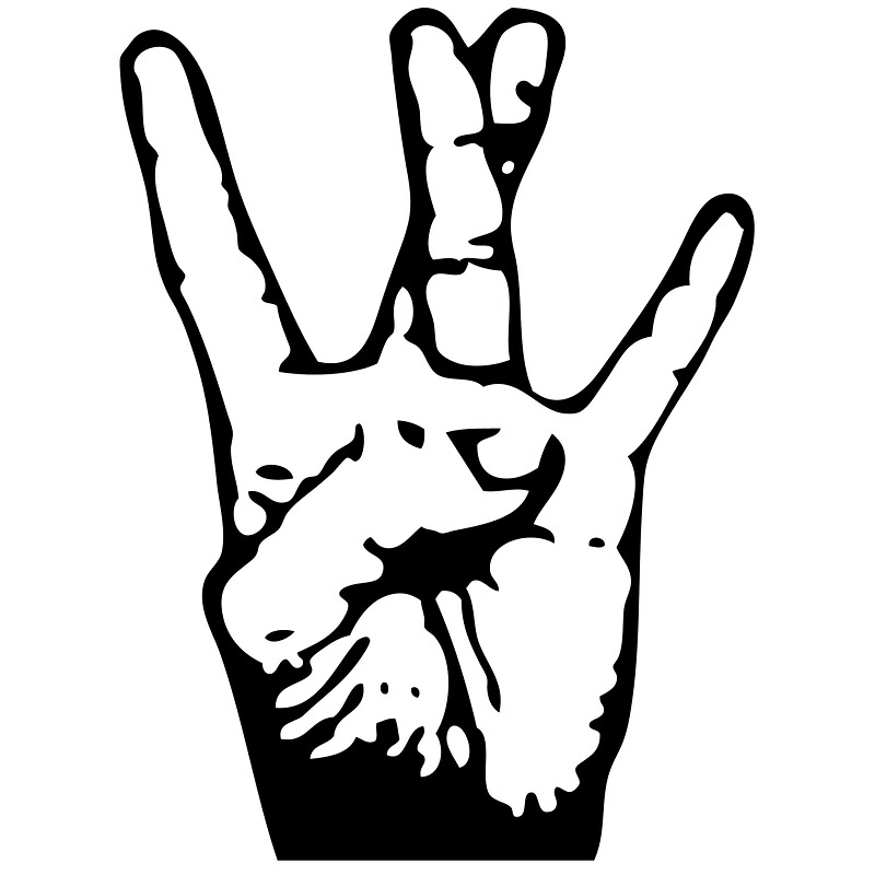 """West Side Hand Sign Drawing """"West Coast""""..."""