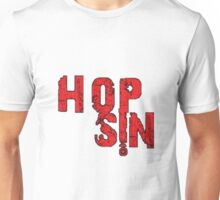 Faded Red Hopsin Logo Unisex T-Shirt