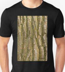 Tree Bark Texture Vertical T-Shirt