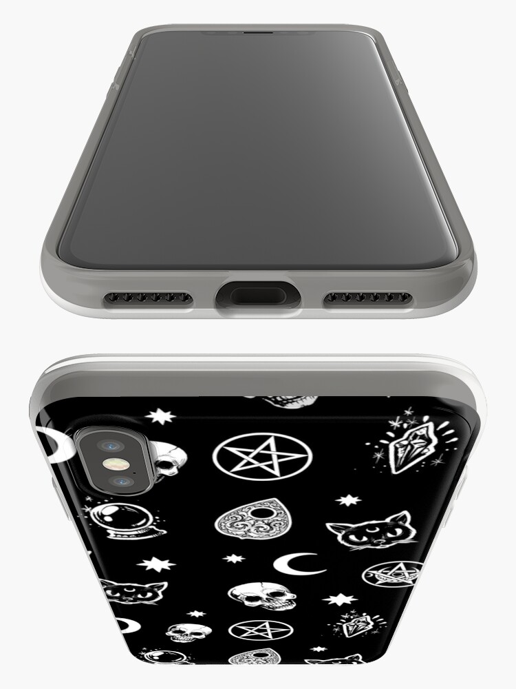 Alternate view of Witch Pattern iPhone Case & Cover