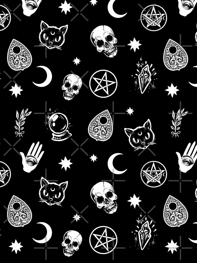 Witch Pattern by medusadollmaker