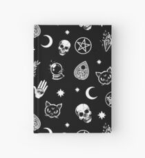 Witch Pattern Hardcover Journal