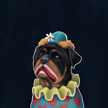 rottweiler by cheddiewong