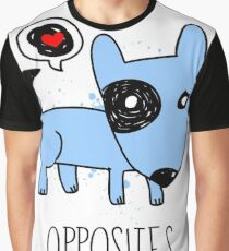 [Men] Opposites Attract Graphic T-Shirt