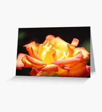 Rose For My Mum Greeting Card