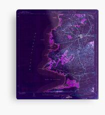 USGS TOPO Map Puerto Rico PR Puerto Real 362521 1941 30000 Inverted Metal Print
