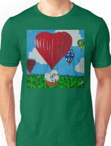 Bunny Anytime Valentines-Design One Unisex T-Shirt