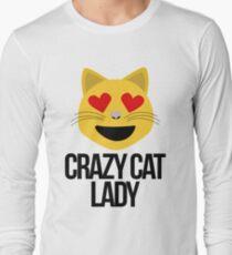 Crazy Cat Lady Emoji T-Shirt