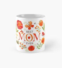 Mother's Day Butterflies and Flowers Mug