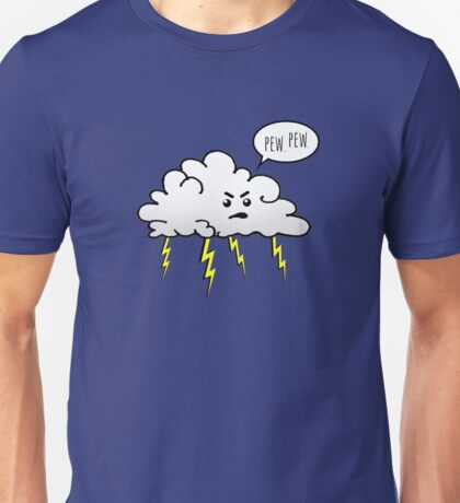 Angry Cloud Unisex T-Shirt