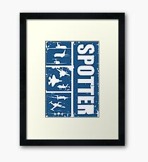 Aircraft spotters Framed Print